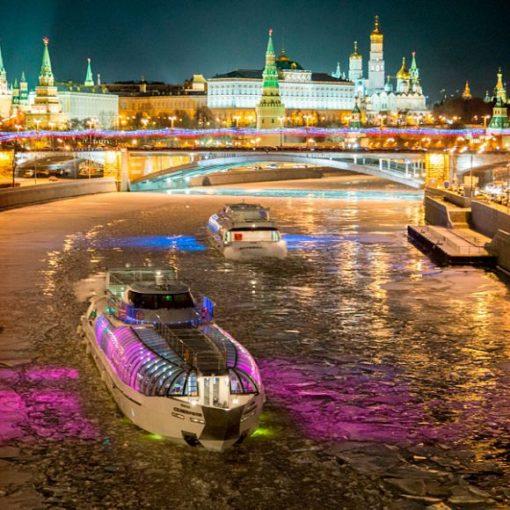 Аренда теплохода для банкетов в Москве