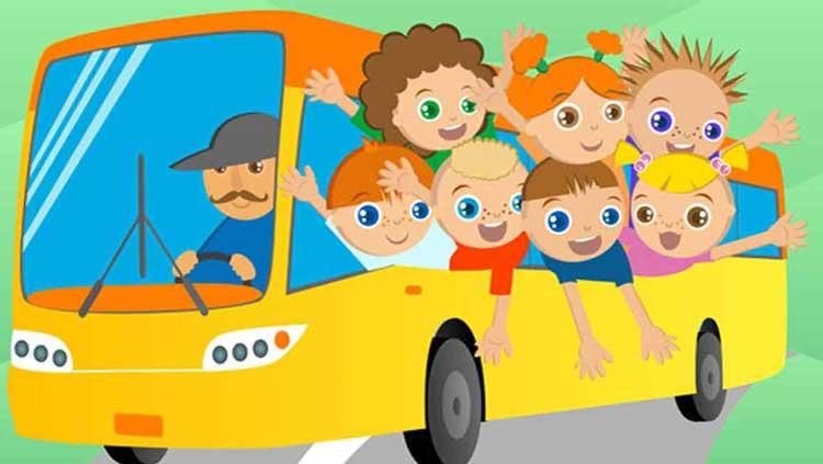 Автобусные поездки детей