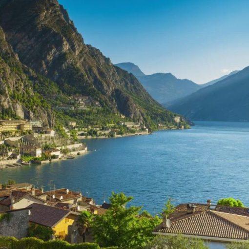 Красивые фотографии озера Гарда в Италии