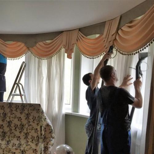 Химчистка штор и гардин профессионалами: преимущества и способы