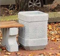 Функциональная бетонная урна